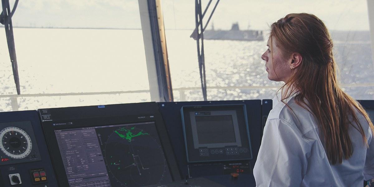 Frauen an Bord